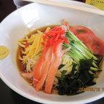 中華洋食きらく - 冷やし中華680円
