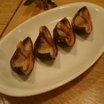 42070025 - 季節野菜のウォーターオイル焼き しいた侍