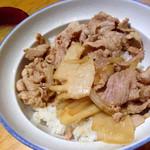 42070479 - 肉丼 ¥750