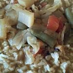 カトマンドゥ - カレーライス 野菜