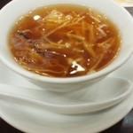 42070893 - シイタケとえのきのスープ