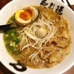 永斗麺 - さんま醤油煮玉子