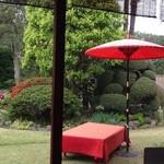 茶太郎's Cafe やまの - 庭