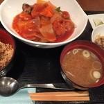 SUMI-BIO - 大豆ミート酢豚ランチ