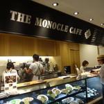 モノクル カフェ - 阪急メンズ東京の地下1階
