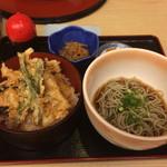 42074932 - 夏野菜穴子天丼定食