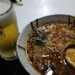 42075175 - 辛味噌&ランチビール