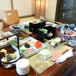 味処 松乃屋 - 料理写真:会席料理 お料理は3000円(税別)より承っております。(最大60名迄)