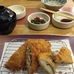 tonkatsuke-waike- - ミックスフライランチ