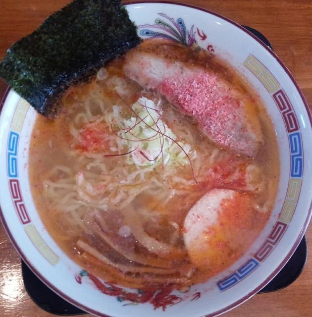 麺や 陽風 - 海老塩ラーメン650円/平成27年9月