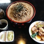 くるまや本店 - ざる蕎麦と鳥ぬき