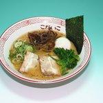 こだいこ - 料理写真:生ニンニク風味らーめん 1000円 一番人気メニューです。生のニンニクを使用しています