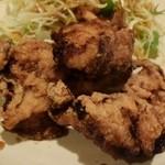 アルバータ食堂 - 鶏の竜田揚げ