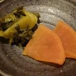 アルバータ食堂 - 漬物