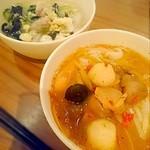 42081748 - トムヤムクンと本日のスープ・フォー入