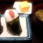 42082195 - おむすびセット(鮭&辛子明太子)(2015.8)