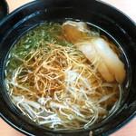 スシロー - 料理写真:今月の太鼓判*小豆島の生搾り醤油ラーメン(280円)