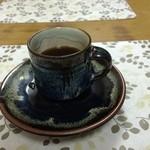 博龍軒 - 食後のコーヒーをサービスして頂きました。