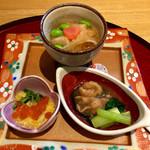 かさ桜亭 - 前菜