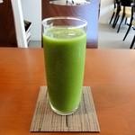 カフェ デ コウサイアン - 季節の野菜・蜂蜜を使ったグリーンスムージー