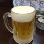 馬賊 - 生ビール460円