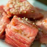 焼肉×バル マルウシミート - 中落ちカルビ【2015年9月】