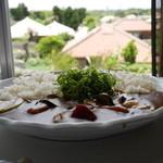 ハーヤナゴミカフェ - 料理写真:竹富島産 季節の島野菜のカレー