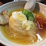 仙台ホルモン・焼き肉 ときわ亭 - 日曜日、お昼の冷麺が旨かった!