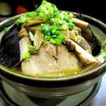 NAGAZUYA - 野菜ラーメン+チャーシュー!(2015,09/14)