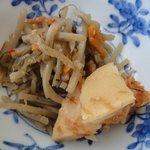 ごん太 - きんぴら&筍 ※濃いめの三河の味付けです ※2010年6月