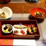 四季の郷志むら - 料理写真:銀杏や桜茸や珍しい鯲の炊いたもの等♪
