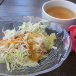 ファーマーズオリジン - ランチサラダ&スープ【2015年9月】