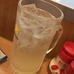晩杯屋 - 290円『生ゆずハイ』2015年9月吉日