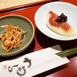 神戸牛ステーキ海鮮料理 わ田る - お通し(・o・)