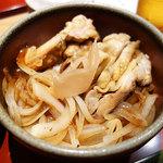 神戸牛ステーキ海鮮料理 わ田る - 鶏丼(^∀^)ノ