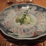 さかな玄菜 - 穴子のお刺身