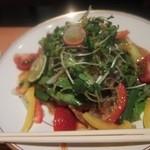 さかな玄菜 - 揚げ穴子入りのサラダ