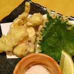 炭焼kitchen 達磨 - ふりそでの天ぷら¥650