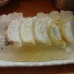 餃子や - にら焼き餃子:410円
