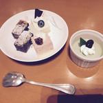 パルケ・ミエール - デザート   抹茶のプリンが美味しすぎた☆