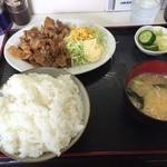 大将 - 豚バラ焼肉定食・大盛(900円)