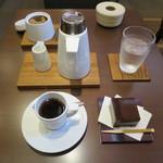カフェ ラストワルツ - コーヒーと水ようかん