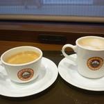 サンマルクカフェ - コーヒーとカフェラテ Sサイズ