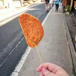 林田のおせんべい - 串せん 甘だれ(\150)