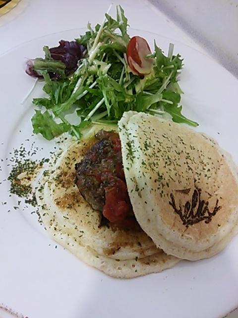 elk 京都河原町店 - ハンバーグパンケーキ