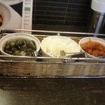 インド式 チャオカリー - 漬物