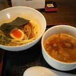 ラーメンにっこうact2 - つけ麺・小(800円:麺150g+味玉)