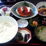海鮮 まえ浜 - 海の幸満載の【ミニ海宝漬定食】