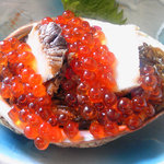 海鮮 まえ浜 - メカブ、鮑、イクラの海宝漬