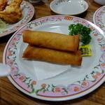 餃子の王将 - 春巻 3本 432円